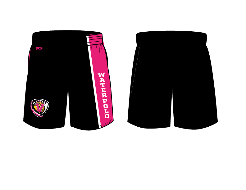 Valley High School Water Polo 2019 Custom Men's Gym Short