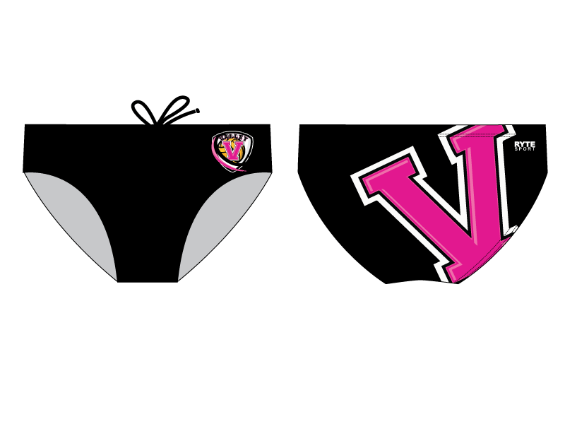 Valley Water Polo 2019 Custom Men's Water Polo Brief - Personalized