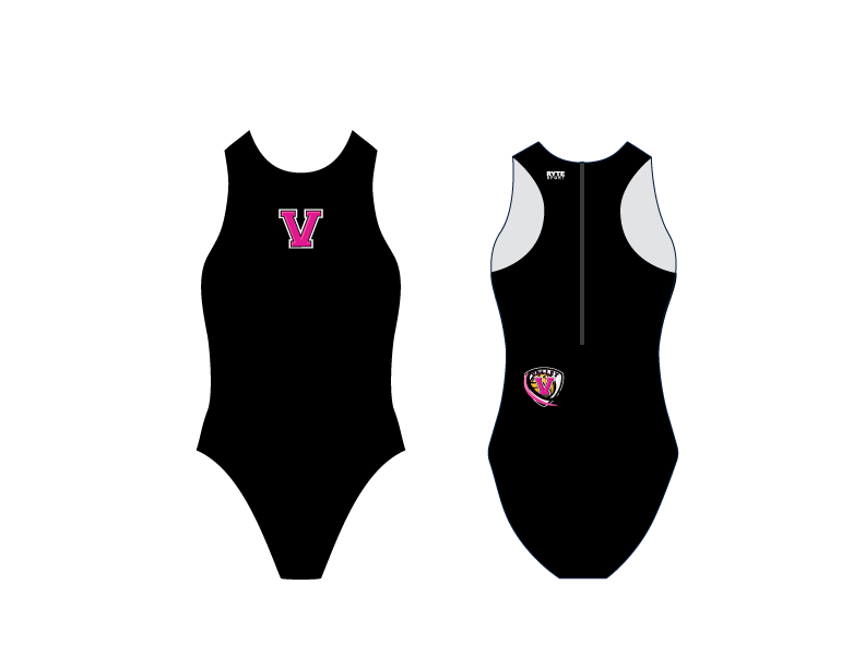 Valley High School Water Polo 2019 Custom Women's Water Polo Suit