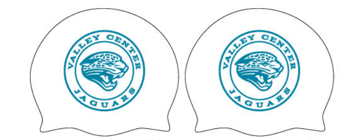 Valley Center High School Swim Team Custom Silicone Cap 2019 *See Coach to Pick Up Order*