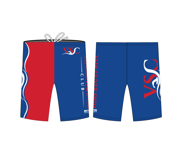 Vancouver Swim Club 2019 Custom Men's Jammer