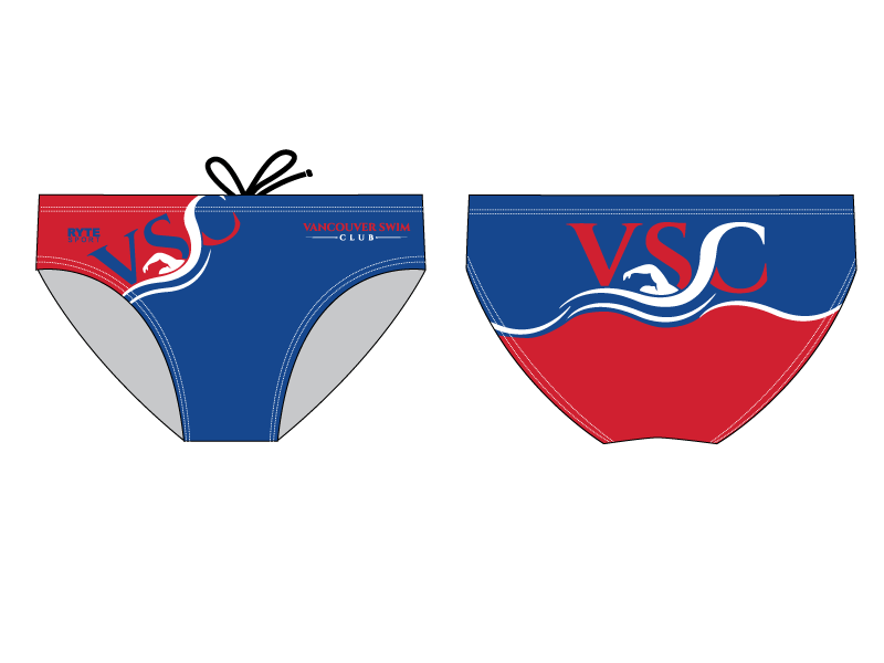 Vancouver Swim Club 2019 Custom Men's Swim Brief