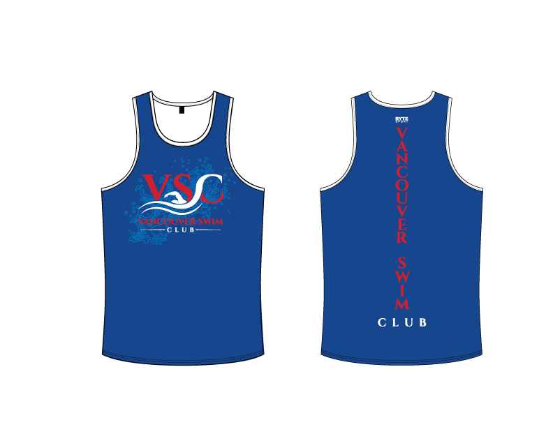 Vancouver Swim Club 2019 Custom Men's Tank Top