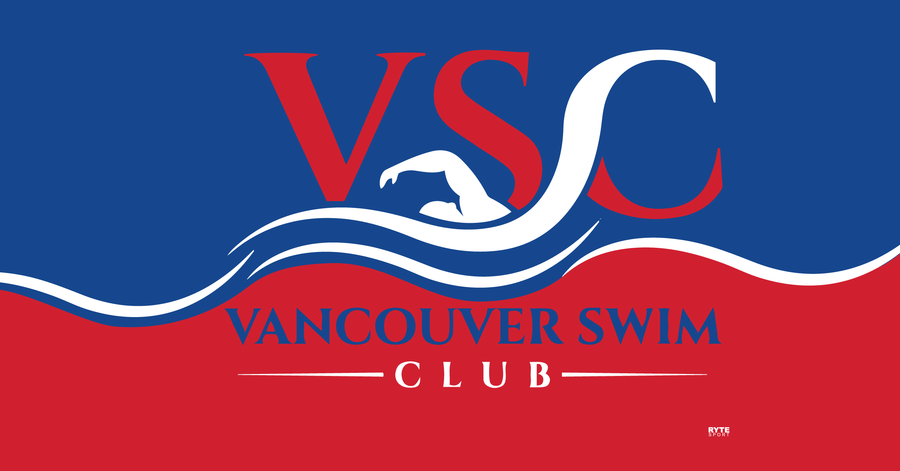 Vancouver Swim Club 2019 Custom Towel - Personalized