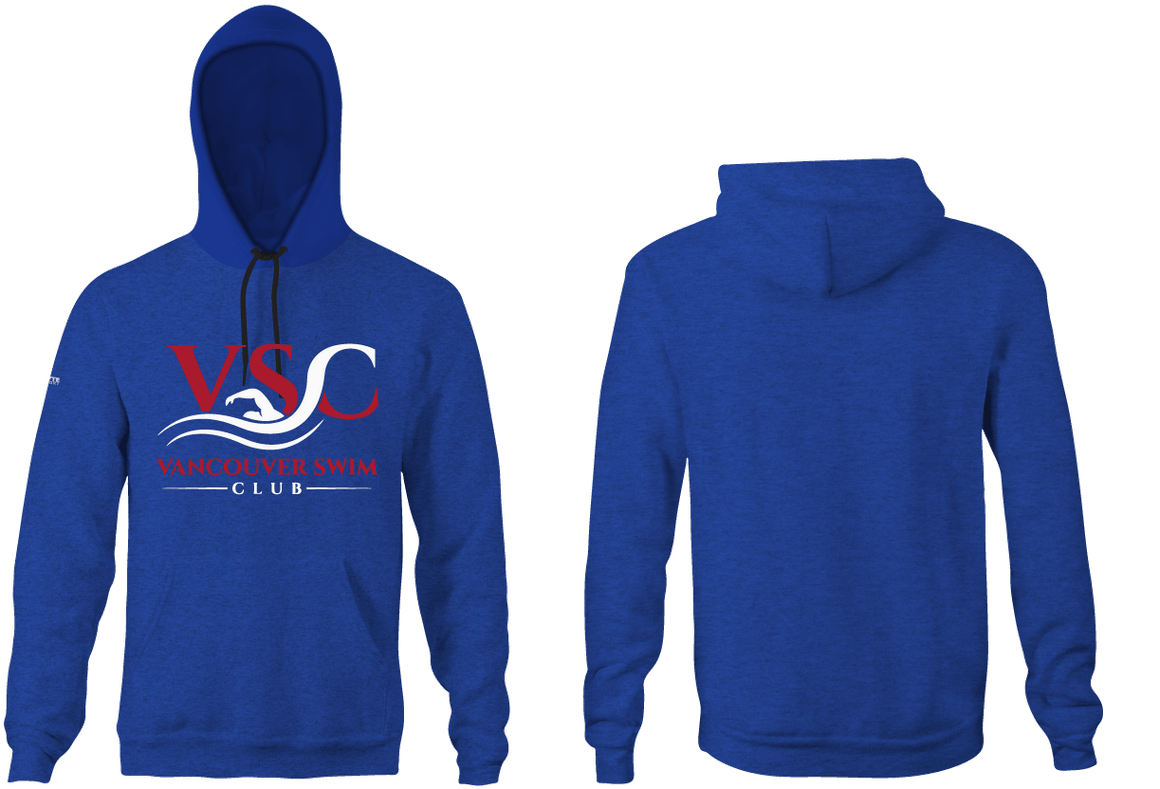 Vancouver Swim Club 2019 Custom Youth Hooded Sweatshirt