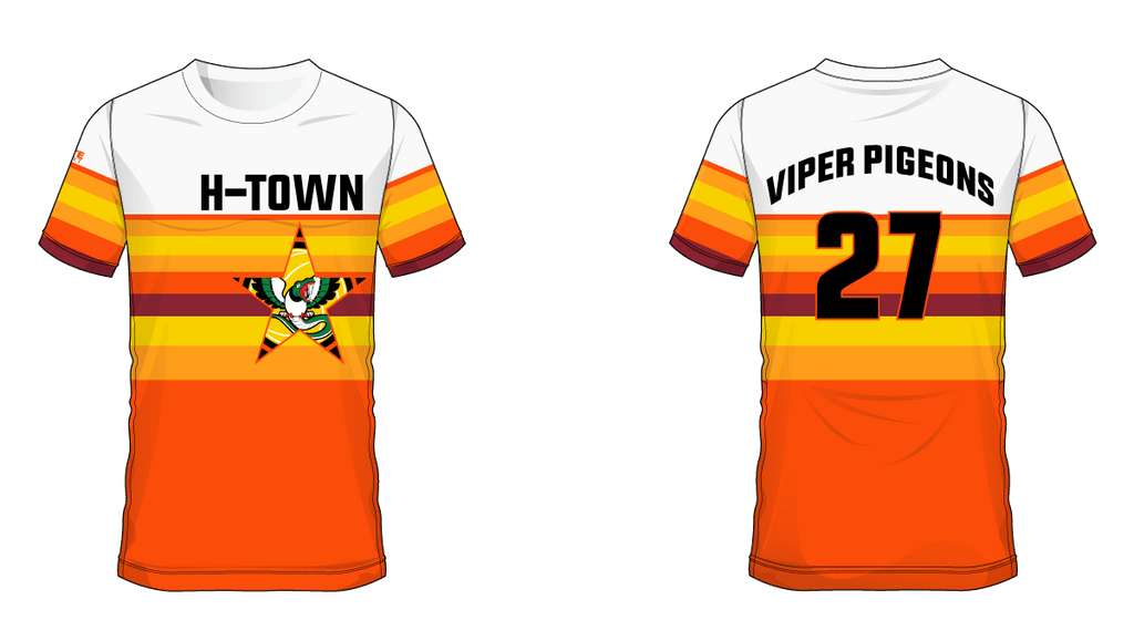 Viper Pigeon H-Town Tee 2019 #27
