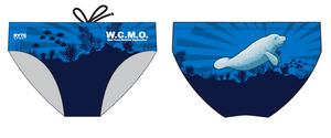 The West Coast Manatee Organization Custom Men's Swim Brief