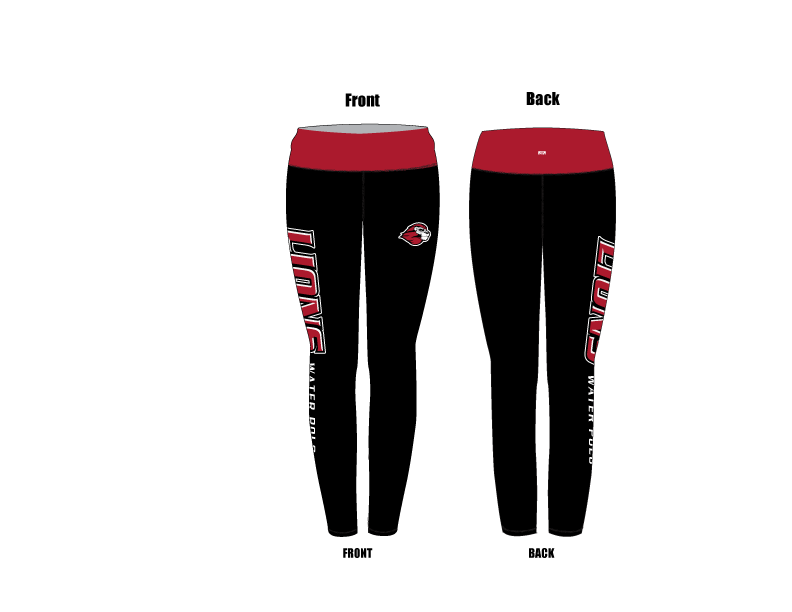 Westminster High School Water Polo 2019 Custom Mid-Rise Full Length Leggings