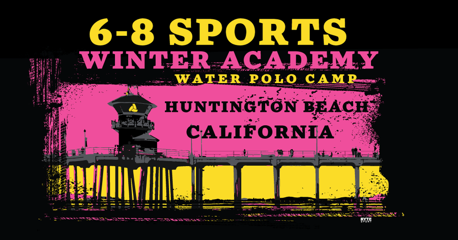 6-8 Sports Winter Academy - Huntington Beach Custom Towel -Personalized