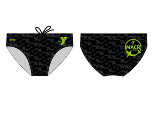 MACR-Sharks Swimming Custom Men's Swim Brief