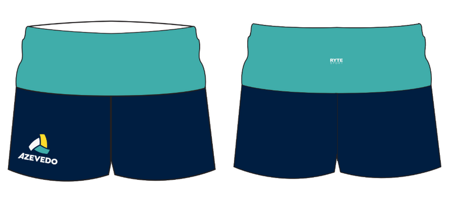 Azevedo Water Polo Navy Yoga Short