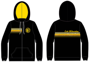 Lick-Wilmerding High School Water Polo Custom Unisex Zip Up Hooded Sweatshirt