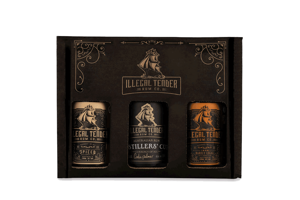 Illegal Tender Rum Co - Rum Tasting Set 3pc
