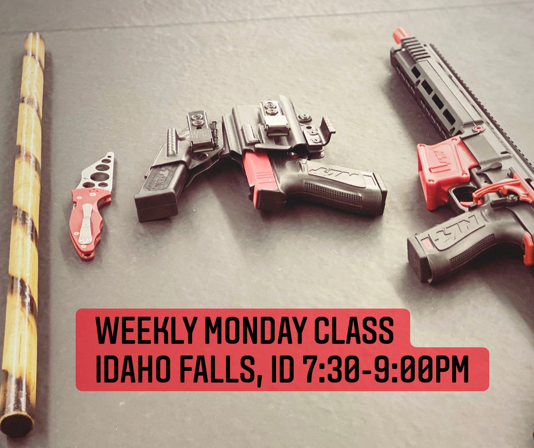 Weekly MONDAY Night Class (Monthly Fee $55)