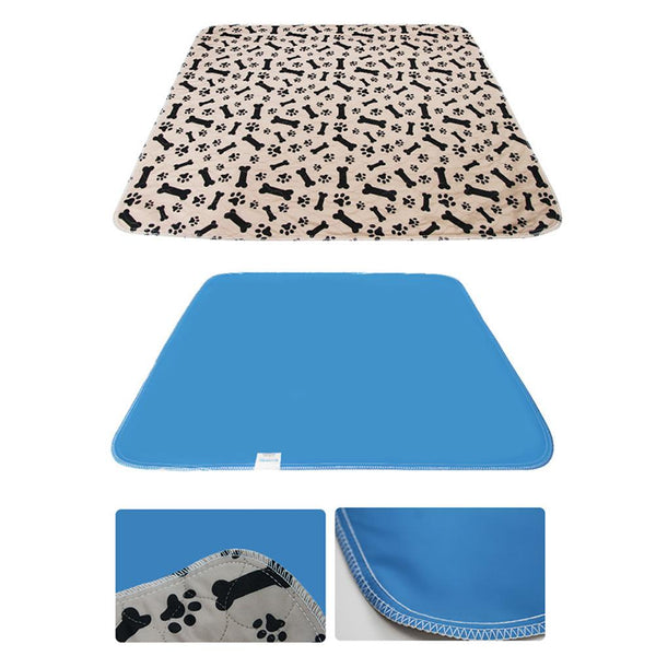 Pet Dog Pee Pad Three-layer Reusable Absorbent Waterproof