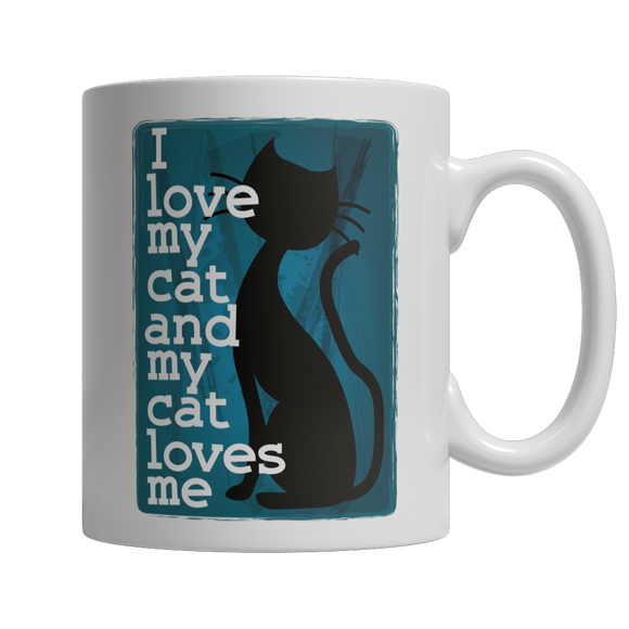 Limited Edition -I Love My Cat And My Cat Loves Me