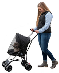 Pet Gear Travel Lite Pet Stroller for Cats and Dogs up to 15-pounds