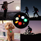 Clip-on Pet Collar LED Light Dog and Cat Collar Light with ID Tags for Night Walking