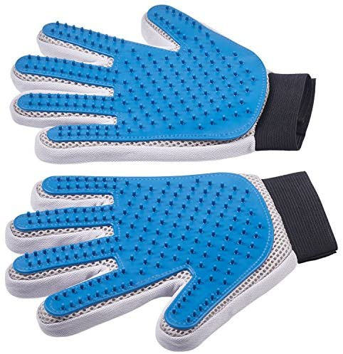 Pet Grooming Gloves - Left + Right -