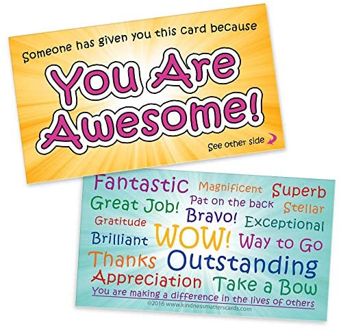 You are Awesome Cards - Appreciation Cards
