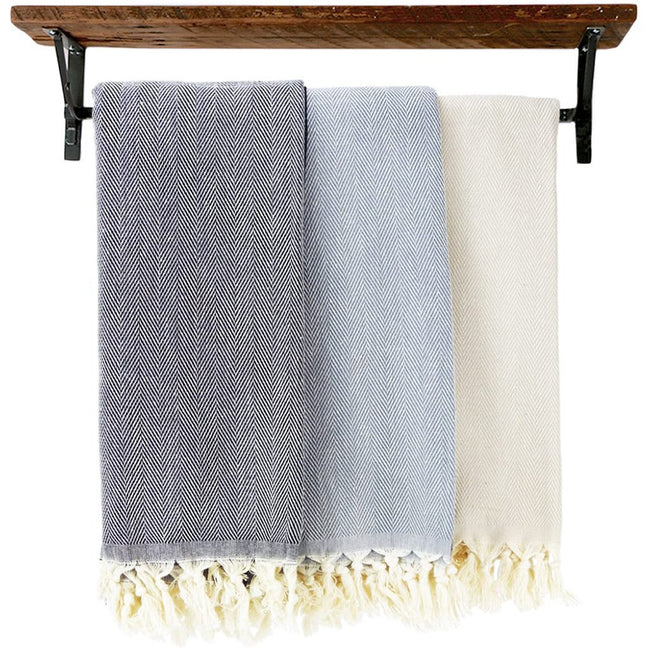 Hacienda Austin - Herringbone Turkish Towel