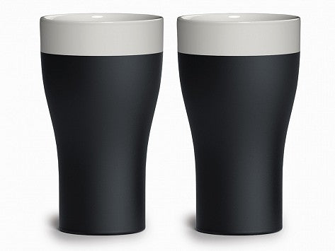 Cooling Ceramic Tumblers - Set of 2
