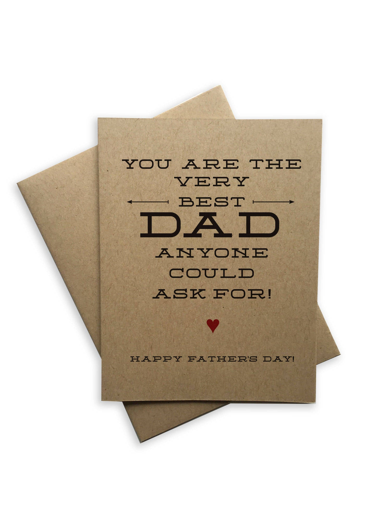 Tiramisu Paperie - You Are The Very Best Dad Notecard