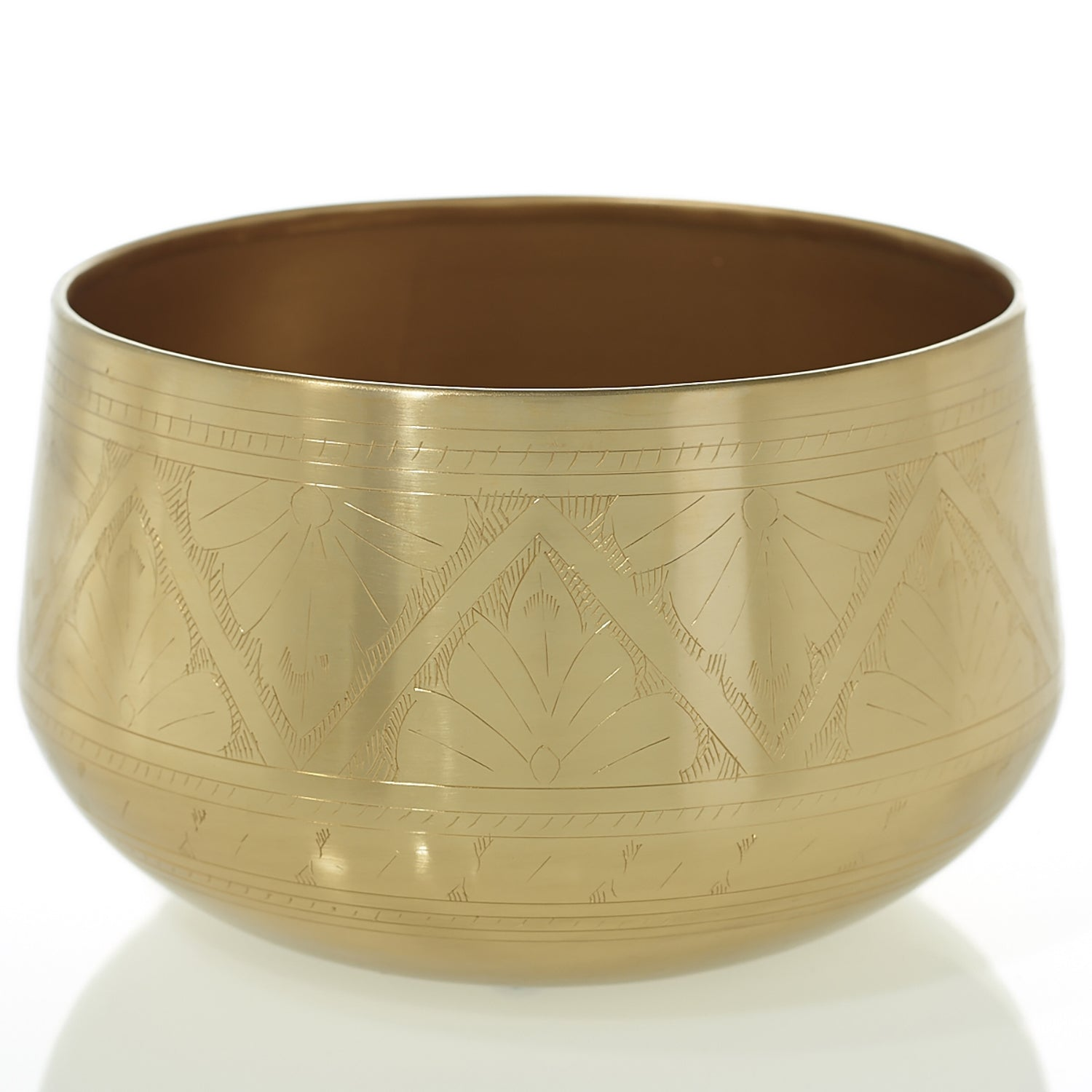 Golden Retro Bowl 10 x 6""