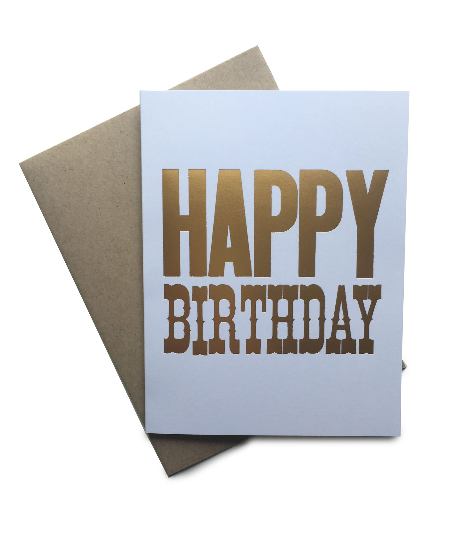 Tiramisu Paperie - Happy Birthday Notecard