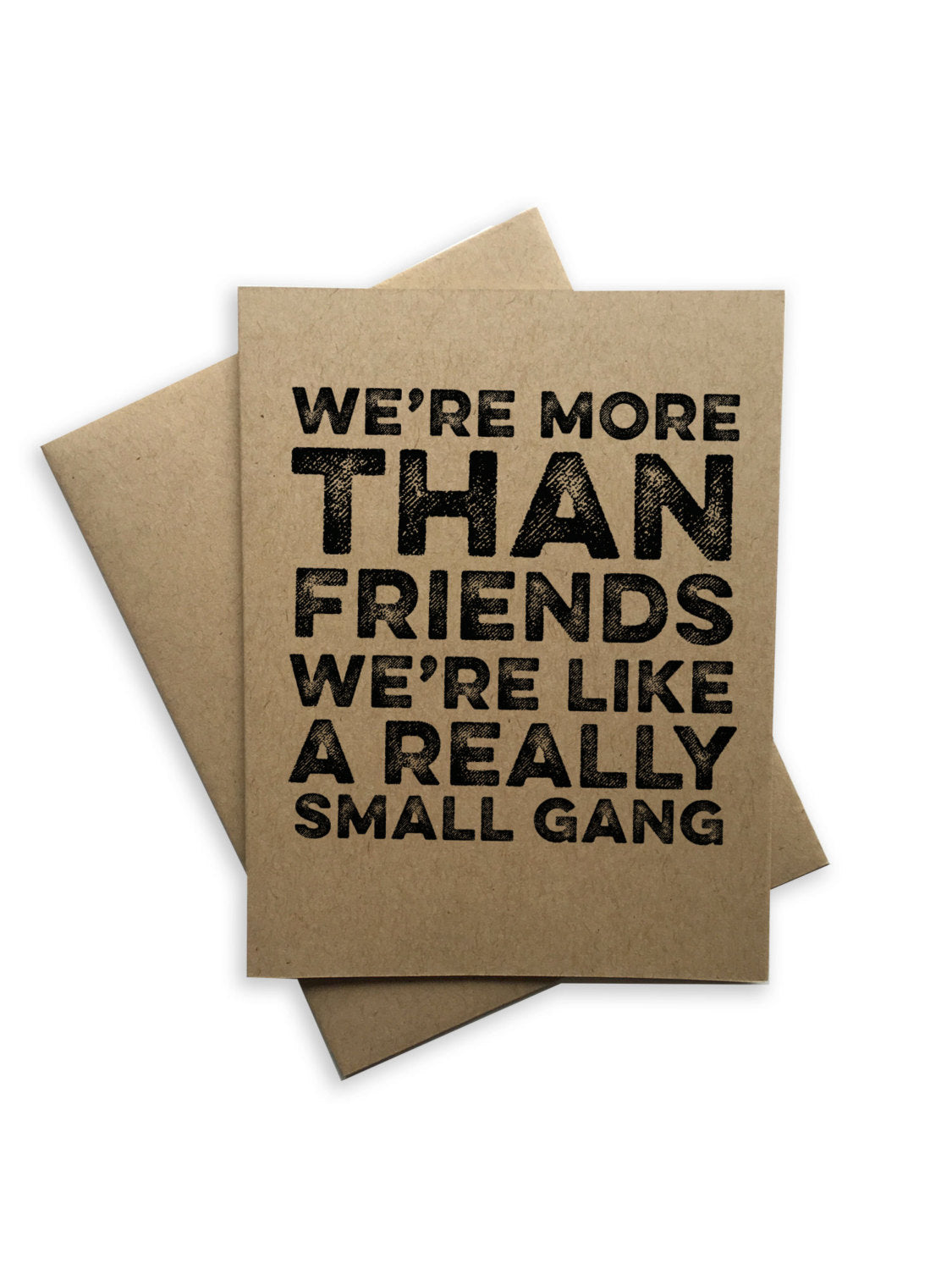 Tiramisu Paperie - Friendship Notecard