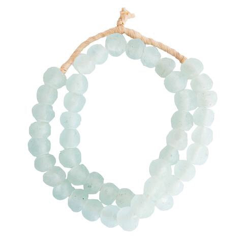 Grey Mist Sea Glass Beads