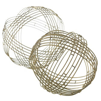 Metallic Gold Sphere 8.5 round