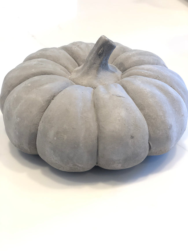 Cement Pumpkins