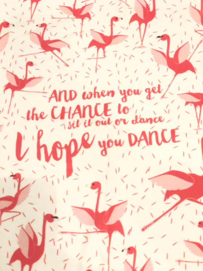 Flamingo Lovey : I hope you Dance