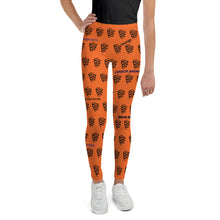 Youth Leggings - smooth camp zone