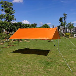 Reinforced Waterproof  Rain Fly Tarp - smooth camp zone