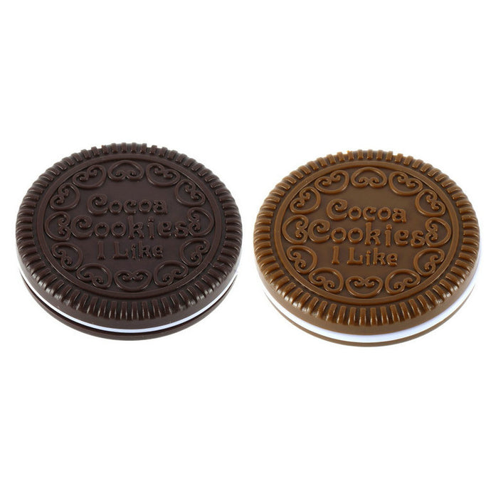 Chocolate Cookie Shaped Mirror - smooth camp zone