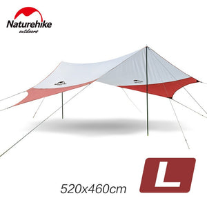 Naturehike  Large Camp Awning - smooth camp zone
