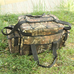 Waterproof Large Fishing Tackle Bag - smooth camp zone