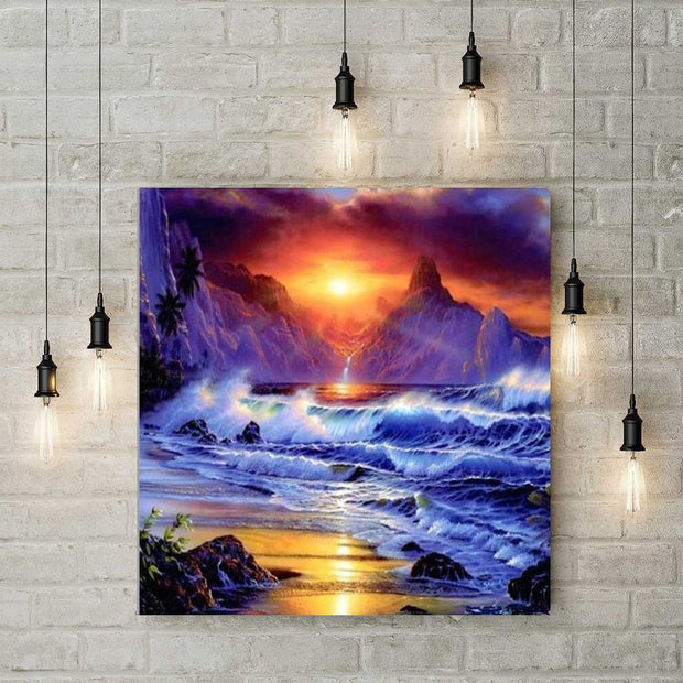 Diamond Painting - Sonne & Meer