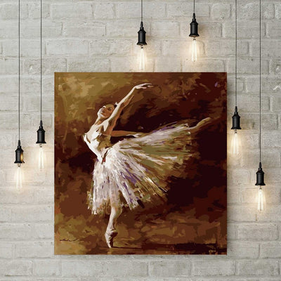 XXL - Diamond Painting - Ballerina