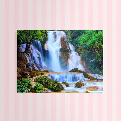 Diamond Painting - Wasserfall