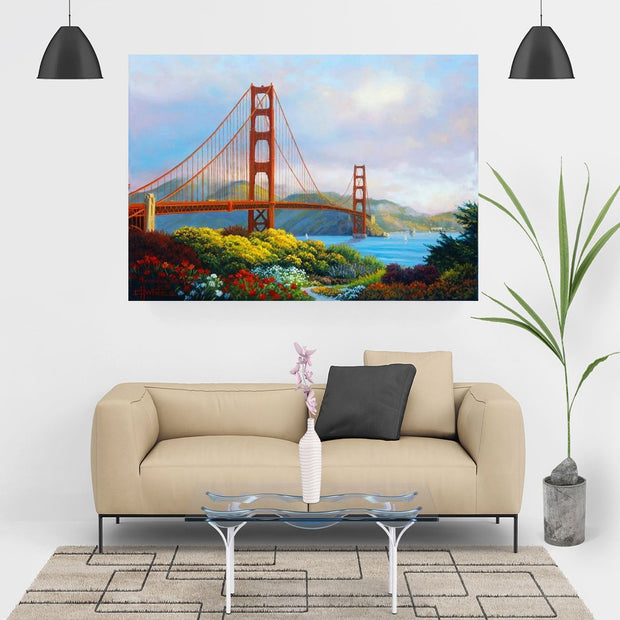 XXL - Diamond Painting - Golden Gate Bridge