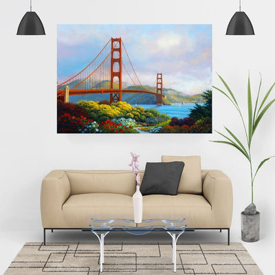 Diamond Painting - Golden Gate Bridge