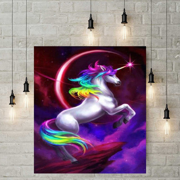 Diamond Painting - Einhorn 2