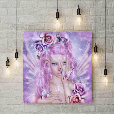 XXL - Diamond Painting - Rosa Elf