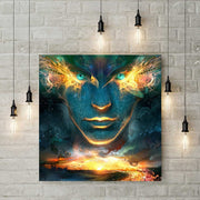 XXL - Diamond Painting - Fantasy Kunst Mann