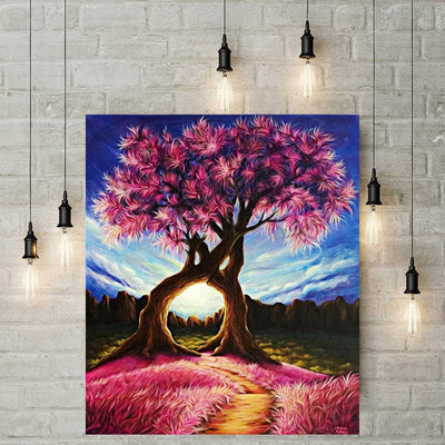 Diamond Painting - Baum in Love