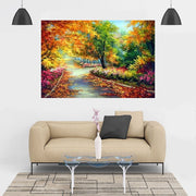 XXL - Diamond Painting - Herbstlandschaft