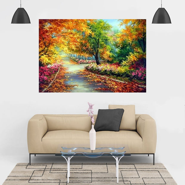 Diamond Painting - Herbstlandschaft